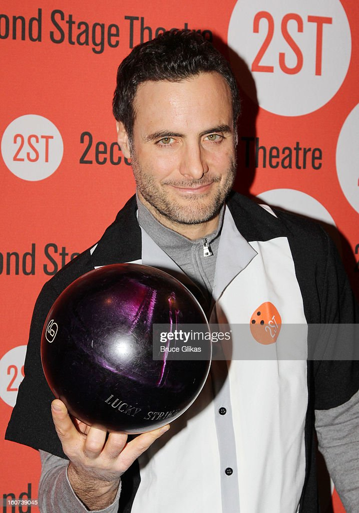 Dominic Fumusa poses at Second Stage Theatre's 26th Annual All-Star Bowling Classic at Lucky Strike on February 4, 2013 in New York City.