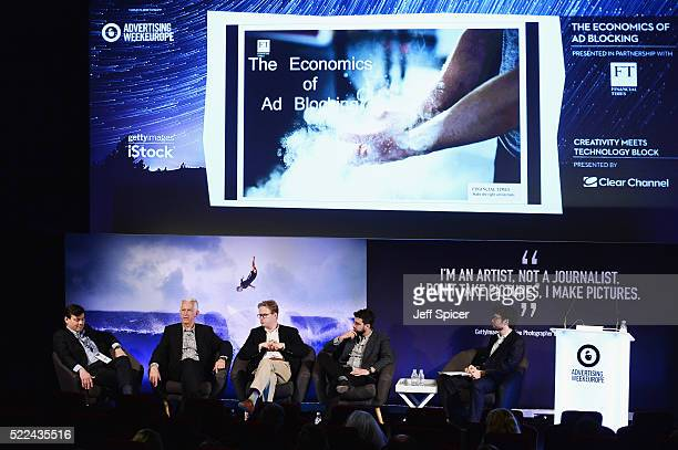 Dominic Good Global Sales Director FT Bob Wootton Director of Media Advertising ISBA Nick Baughan CEO Maxus and Rotem Dar Business Development /...