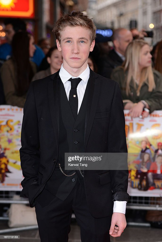 Dominic Herman Day attends the UK Premiere of 'All Stars' at Vue West End on April 22, 2013 in London, England.