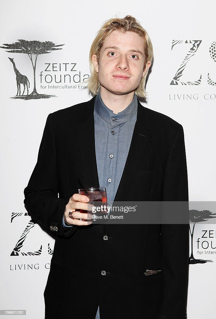 Dominic Jones arrives at the Zeitz Foundation and ZSL Gala at London Zoo on November 22, 2012 in London, England.