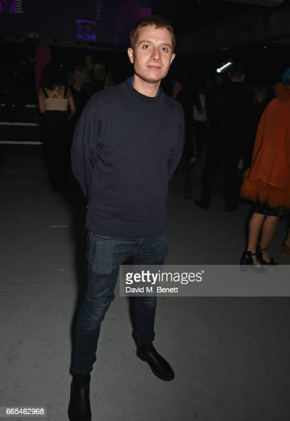 Dominic Jones attends as Dazed ck one celebrate the launch of the Dazed 100 at 180 The Strand on April 6 2017 in London England