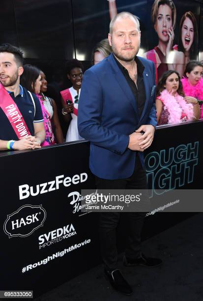 Dominic Lewis attends New York Premiere of Sony's ROUGH NIGHT presented by SVEDKA Vodka at AMC Lincoln Square Theater on June 12 2017 in New York City