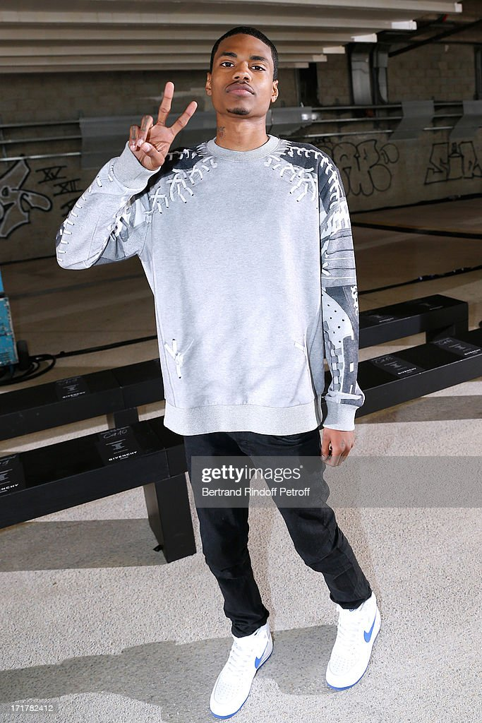 Dominic Lord attends Givenchy Menswear Spring/Summer 2014 Show as part of the Paris Fashion Week, held at City of Fashion and Design on June 28, 2013 in Paris, France.