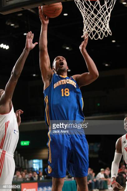 Dominic McGuire of the Santa Cruz Warriors shoots the ball against the Rio Grande Valley Vipers during the 2014 NBA DLeague Showcase presented by...