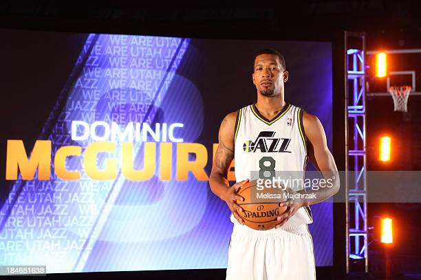 Dominic McGuire of the Utah Jazz poses for a photo during 2013 Video Media Day at EnergySolutions Arena on October 14 2013 in Salt Lake City Utah...