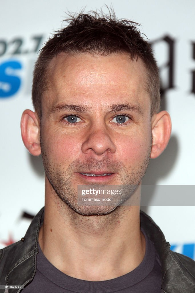<a gi-track='captionPersonalityLinkClicked' href=/galleries/search?phrase=Dominic+Monaghan&family=editorial&specificpeople=209279 ng-click='$event.stopPropagation()'>Dominic Monaghan</a> attends the 102.7 KIIS FM and Star 98.7 host 5th annual celebrity and artist lounge celebrating the 55th annual GRAMMYS at ESPN Zone At L.A. Live on February 8, 2013 in Los Angeles, California.