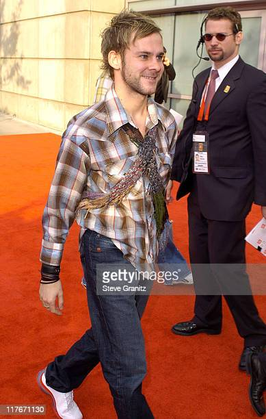 Dominic Monaghan during NBA AllStar Game 2004 Celebrity Arrivals at Staples Center in Los Angeles CA United States