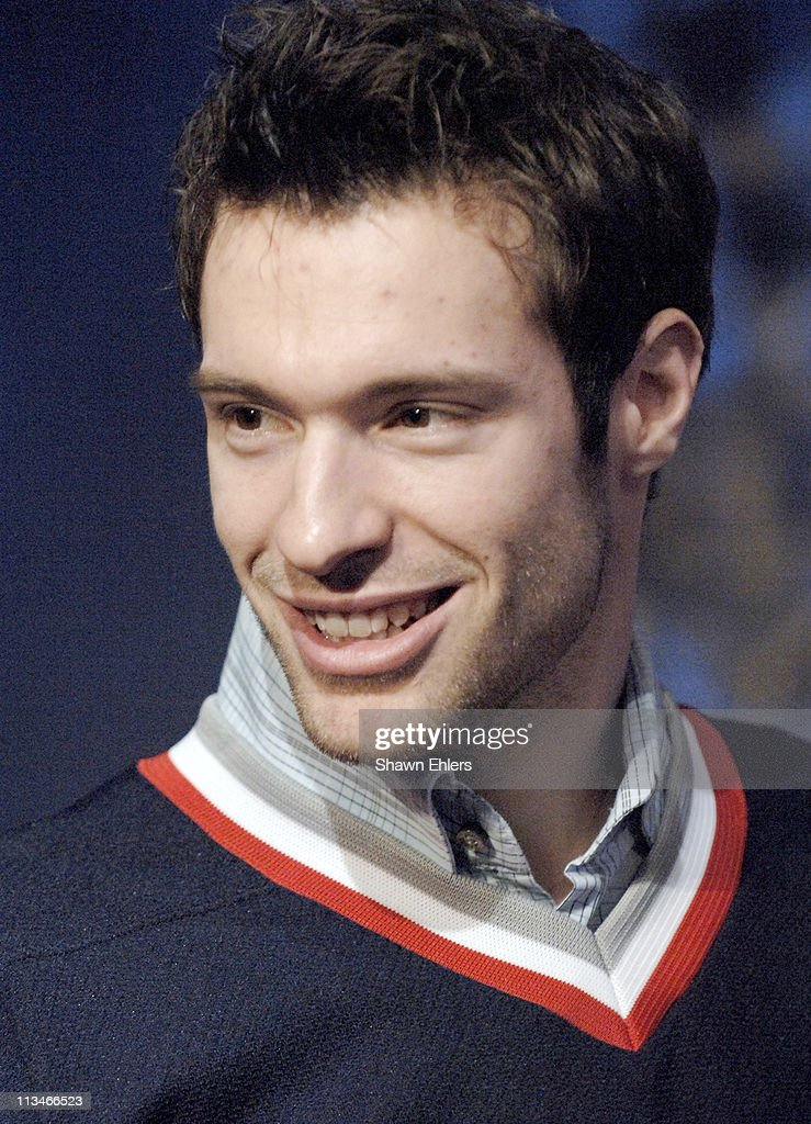Dominic Moore during The New York Rangers Visit Fuse Studios - February 6, 2006 at Fuse Studios in New York City, New York, United States.