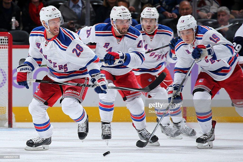 New York Rangers v Colorado Avalanche