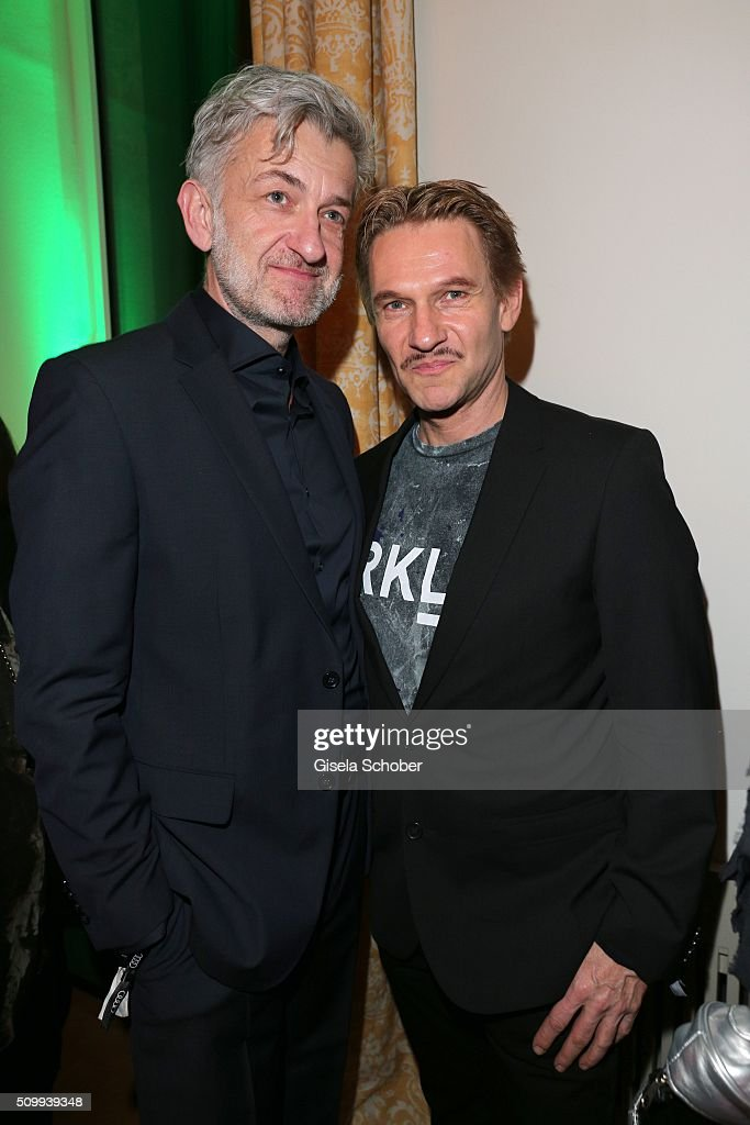 Dominic Raacke and Thure Riefenstein during the Bunte and BMW Festival Night 2016 during the 66th Berlinale International Film Festival Berlin on February 12, 2016 in Berlin, Germany.