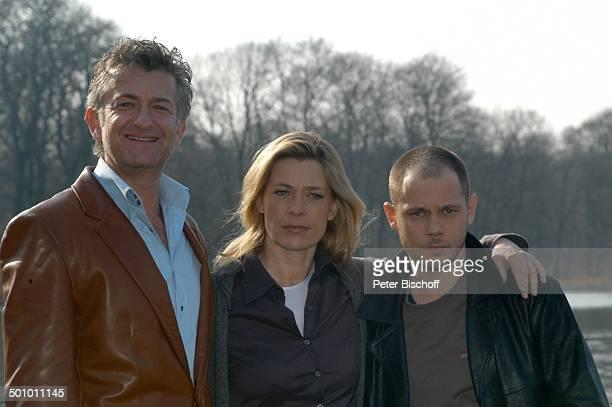 Dominic Raacke Barbara Rudnik Antonio Wannek ZDFFilm 'Der fremde Gast' Englischer Garten München Deutschland Europa Thriller See Schauspieler...