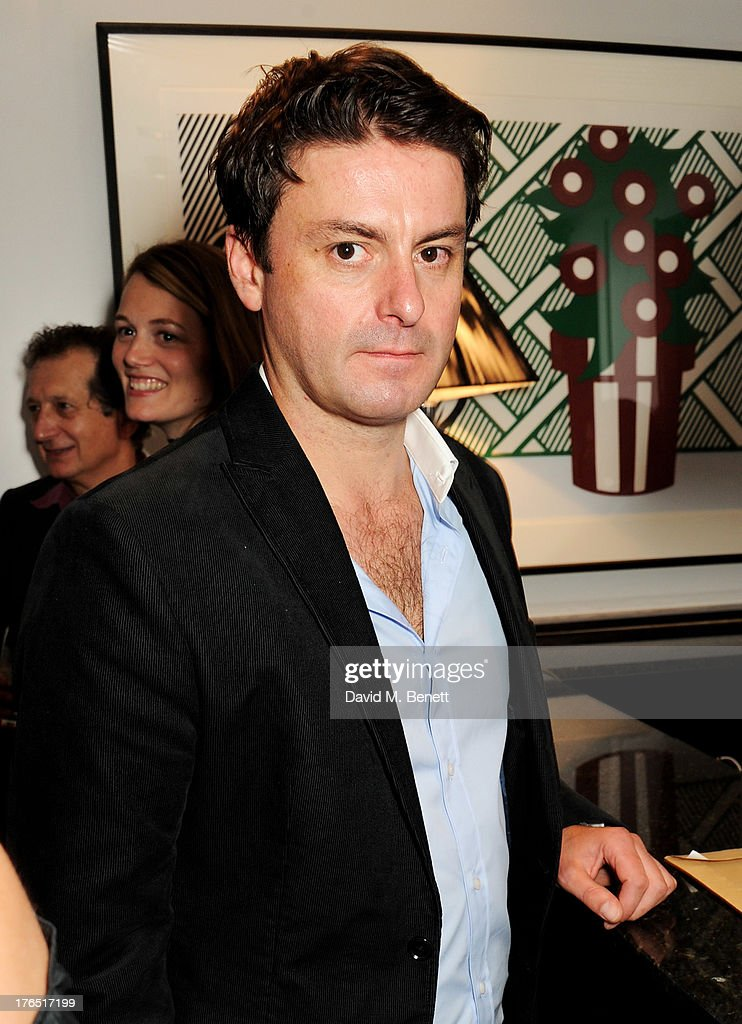 Dominic Rowan attends an after party following the press night performance of 'A Doll's House' at The Hospital Club on August 14, 2013 in London, England.