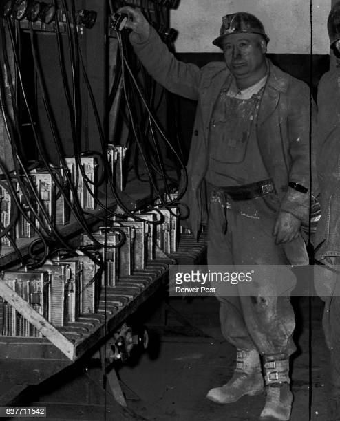 Dominic Salvo hangs up his miner's lamp after a shift in the Dawson mine Like most other Dawson miners Salvo doesn't know what he will do after the...
