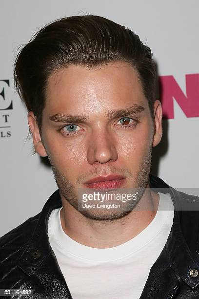 Dominic Sherwood arrives at NYLON and BCBGeneration's Annual Young Hollywood May Issue Event at HYDE Sunset Kitchen Cocktails on May 12 2016 in West...