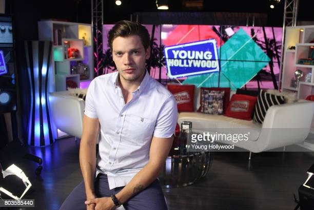 Dominic Sherwood visits the Young Hollywood Studio on June 29 2017 in Los Angeles California