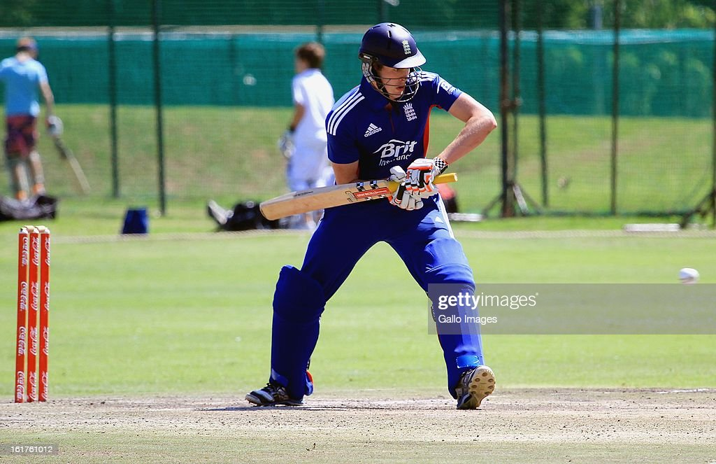 Dominic Sibley of England during the 2nd U/19 Youth One Day International match between South Africa and England at Bellville Cricket Club on February 15, 2013 in Cape Town, South Africa.