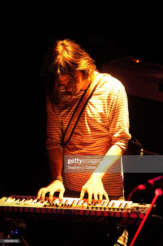 Dominic Simper of Tame Impala performs at Headliners Music Hall on March 2, 2013 in Louisville, Kentucky.