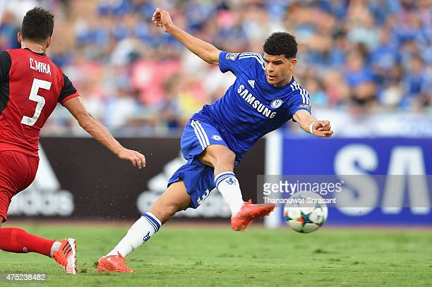 Dominic Solanke of Chelsea FC during the international friendly match between Thailand AllStars and Chelsea FC at Rajamangala Stadium on May 30 2015...