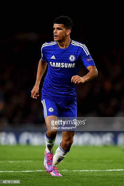Dominic Solanke of Chelsea in action during the UEFA Champions League Group G match between Chelsea FC and NK Maribor at Stamford Bridge on October...