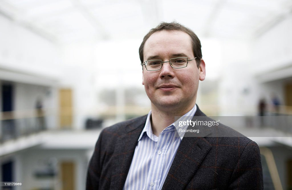 Dominic Vergine, director of sustainable business for ARM Holdings Plc., poses for a photograph at the company's headquarters in Cambridge, U.K., on Wednesday, March 16, 2011. ARM Holdings Plc's stock has rallied so fast that the designer of chips that help power Apple Inc.'s iPhone is now the most expensive takeover target in the semiconductor industry since 2006. Photographer: Chris Ratcliffe/Bloomberg via Getty Images