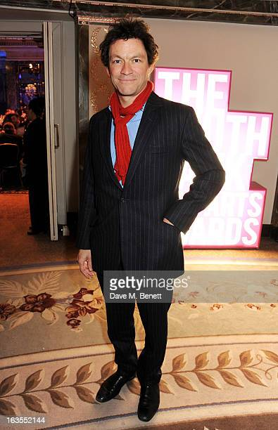 Dominic West arrives at the 2013 South Bank Sky Arts Awards at The Dorchester on March 12 2013 in London England