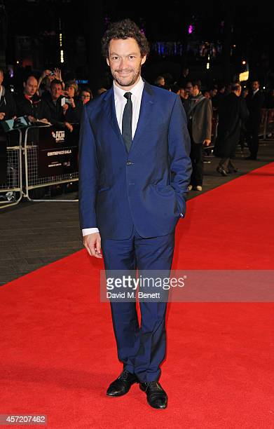 Dominic West attends a screening of 'Testament of Youth' during the 58th BFI London Film Festival at Odeon Leicester Square on October 14 2014 in...