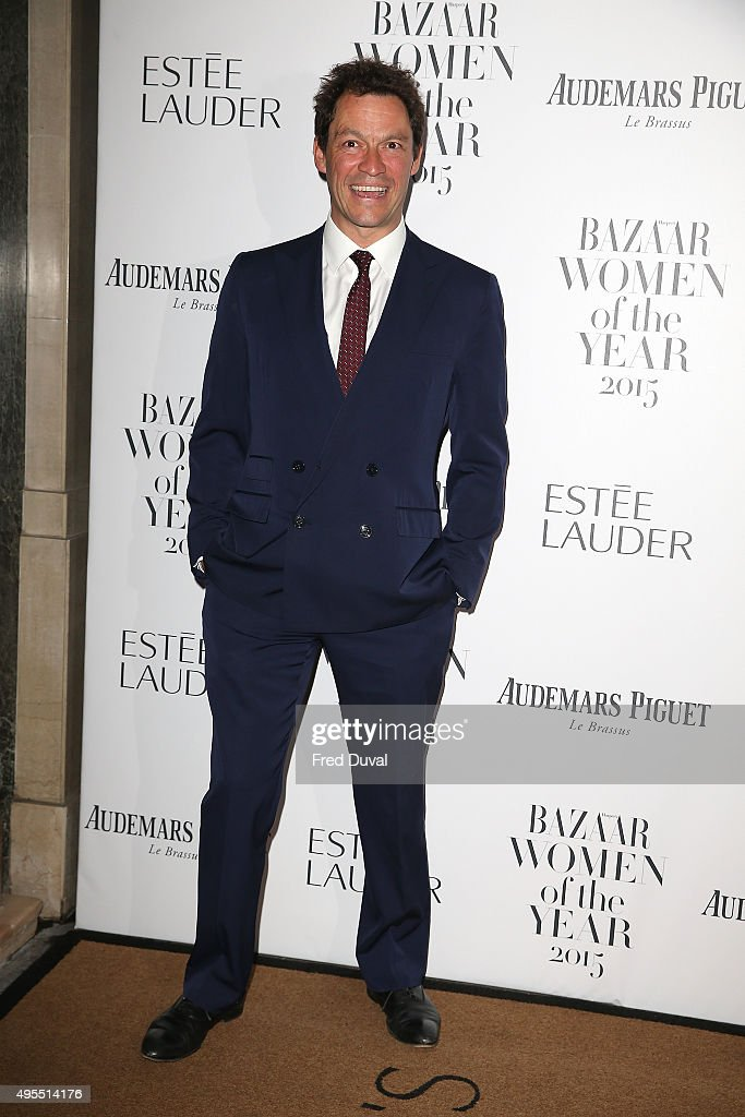 <a gi-track='captionPersonalityLinkClicked' href=/galleries/search?phrase=Dominic+West&family=editorial&specificpeople=211555 ng-click='$event.stopPropagation()'>Dominic West</a> attends Harper's Bazaar Women of the Year Awards at Claridge's Hotel on November 3, 2015 in London, England.