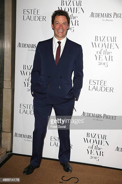 Dominic West attends Harper's Bazaar Women of the Year Awards at Claridge's Hotel on November 3 2015 in London England