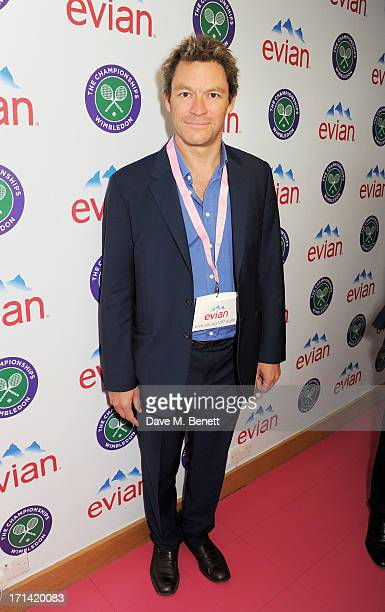 Dominic West attends the evian 'Live Young' Suite at Wimbledon on June 24 2013 in London England