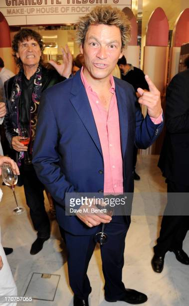 Dominic West attends the launch of 'Charlotte Tilbury's MakeUp House of Rock n'Kohl' at Selfridges on June 17 2013 in London England