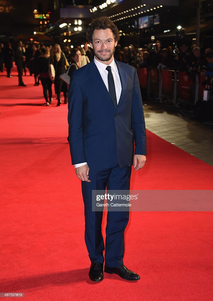 <a gi-track='captionPersonalityLinkClicked' href=/galleries/search?phrase=Dominic+West&family=editorial&specificpeople=211555 ng-click='$event.stopPropagation()'>Dominic West</a> attends the VIP arrivals of the World Premiere Centrepiece Gala, supported by the Mayor of London, for 'Testament Of Youth' during the 58th BFI London Film Festival at The Mayfair Hotel on October 14, 2014 in London, England.