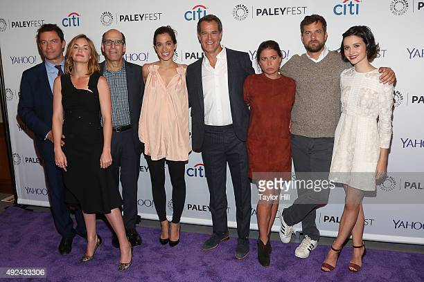Dominic West Ruth Wilson Matt Blank Sarah Treem Josh Stamberg Maura Tierney Joshua Jackson and Julia Goldani Telles attend PaleyFest New York 2015...