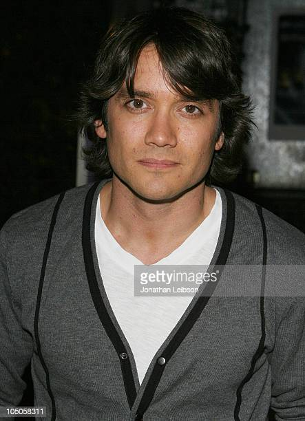 Dominic Zamprogna arrives for the ABC Daytime And The LA Gay Lesbian Center Presents 'The World Goes Round' at The Renberg Theatre on October 7 2010...