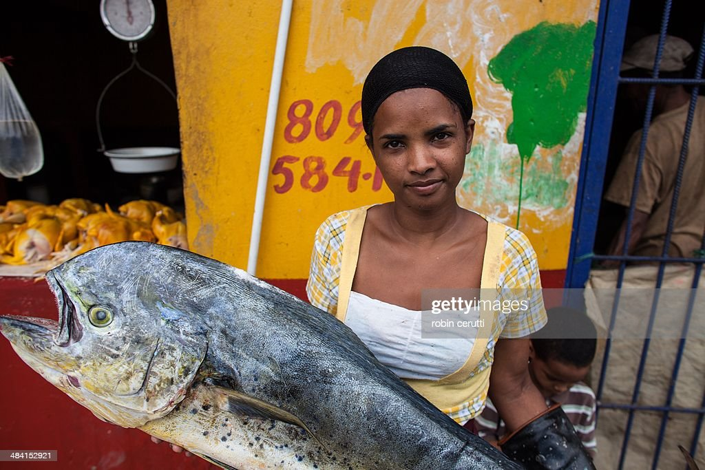 Dominican fish market