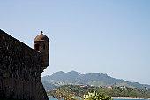 Dominican Republic, Puerto Plata, Fort San Felipe, fortress rooftop