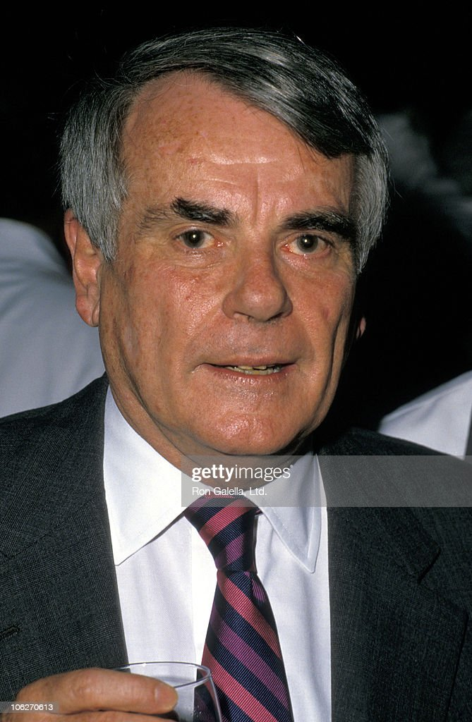Dominick Dunn during Dominck Dunne Celebratory Book Party at Chasen's Restaurant - May 26, 1988 at Chasen's Restaurant in Beverly Hills, California, United States.