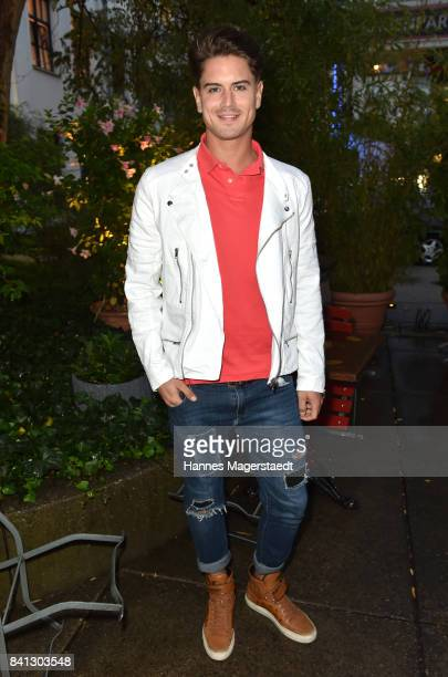 Dominik Bruntner attends the CONNECTIONS PR Summer Cocktail 2017 at Enoteca L'antipasto Nuovo on August 31 2017 in Munich Germany
