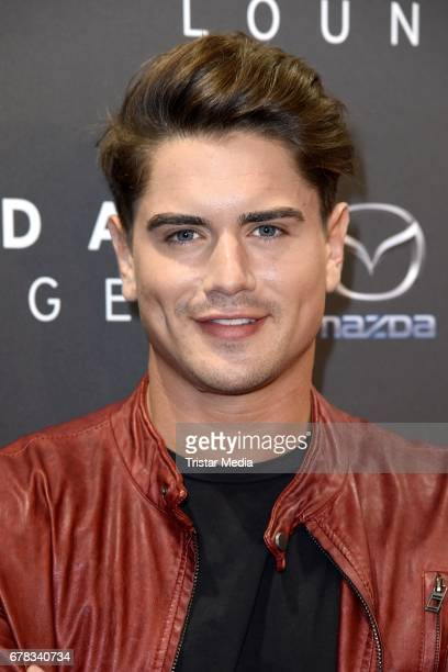 Dominik Bruntner attends the spring cocktail hosted by Mazda and InTouch magazine at Mazda Lounge on May 3 2017 in Berlin Germany