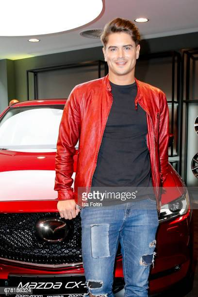Dominik Bruntner during the spring cocktail hosted by Mazda and InTouch magazine at Mazda Lounge on May 3 2017 in Berlin Germany