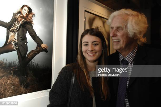Dominik GarciaLorido and Douglas Kirkland attend Woolrich John Rich Bro's Photo Exhibition with Douglas Kirkland at Bloomingdales on September 16...