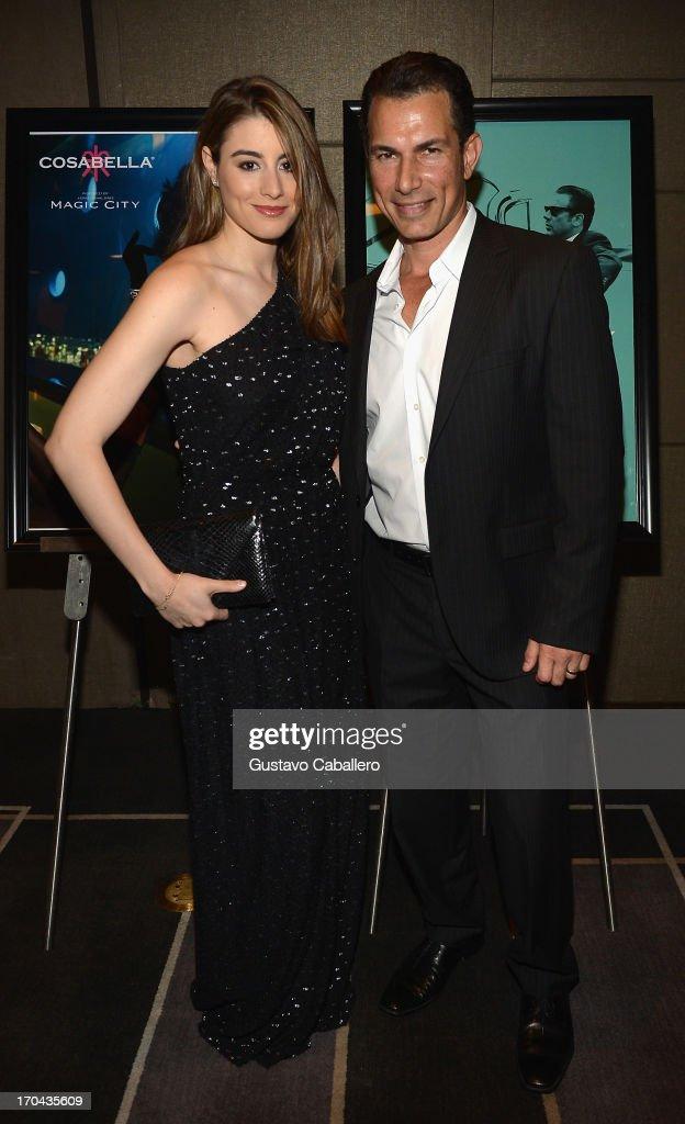 Dominik Garcia-Lorido and Jason Davis attends the 'Magic City' preview screening at W South Beach on June 12, 2013 in Miami Beach, Florida.