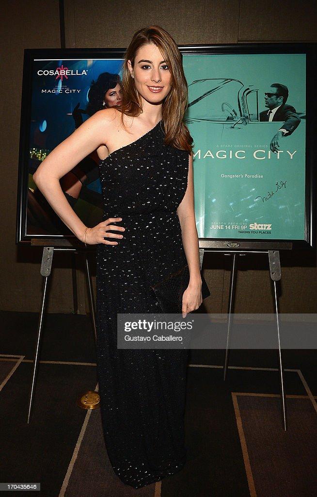 Dominik Garcia-Lorido attends the 'Magic City' preview screening at W South Beach on June 12, 2013 in Miami Beach, Florida.
