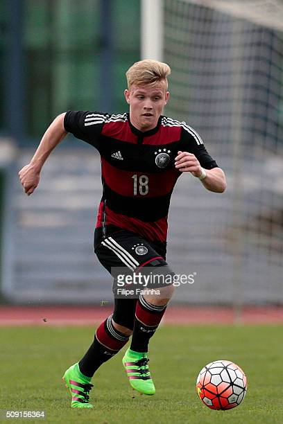 Dominik Marx of Germany during the UEFA Under16 match between U16 France v U16 Germany on February 6 2016 in Vila Real de Santo Antonio Portugal