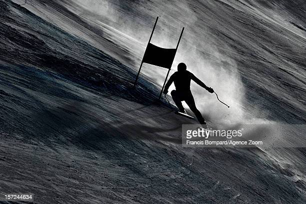 Dominik Paris of Italy competes during the Audi FIS Alpine Ski World Cup Men's Downhill on November 30 2012 in Beaver Creek USA