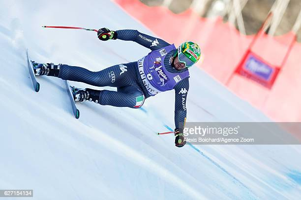 Dominik Paris of Italy competes during the Audi FIS Alpine Ski World Cup Men's SuperG on December 2 2016 in Val d'Isere France