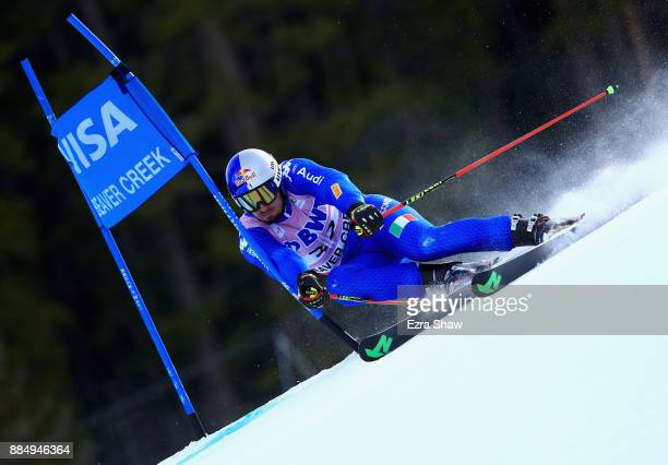Dominik Paris of Italy competes in the first run of the Birds of Prey World Cup Giant Slalom race on December 3 2017 in Beaver Creek Colorado