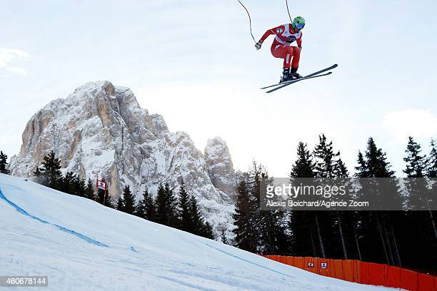 Dominik Paris of Italy takes 3rd place during the Audi FIS Alpine Ski World Cup Men's Downhill on December 19 2014 in Val Gardena Italy