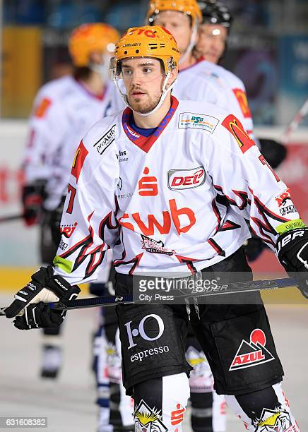 Dominik Tiffels of the Fischtown Pinguins during the action shot on September 3 2016 in Bremerhaven Germany