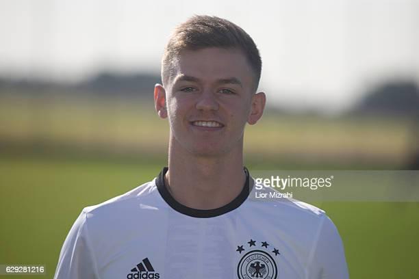 Dominik Wanner of Germany U18 national team on December 12 2016 in Shefayim Israel