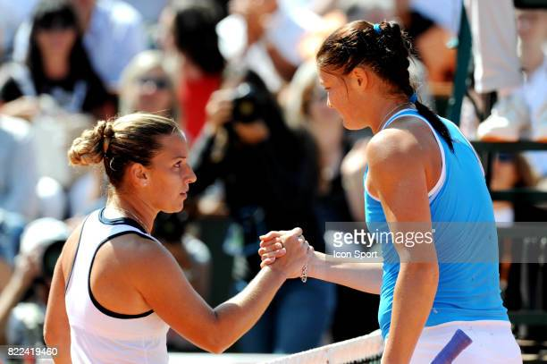 Dominika CIBULKOVA / Dinara SAFINA Roland Garros 2009